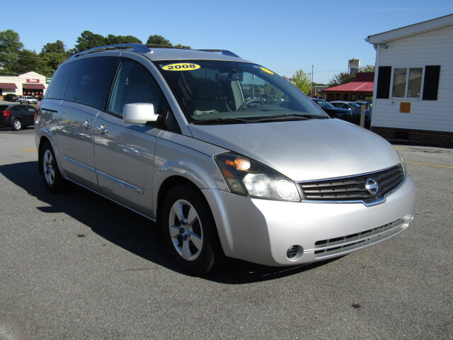 Used Vans Nissan Spartanburg Family Auto Of 2008 Quest Bad Credit No Quick Roval Loans Easy Payment Car