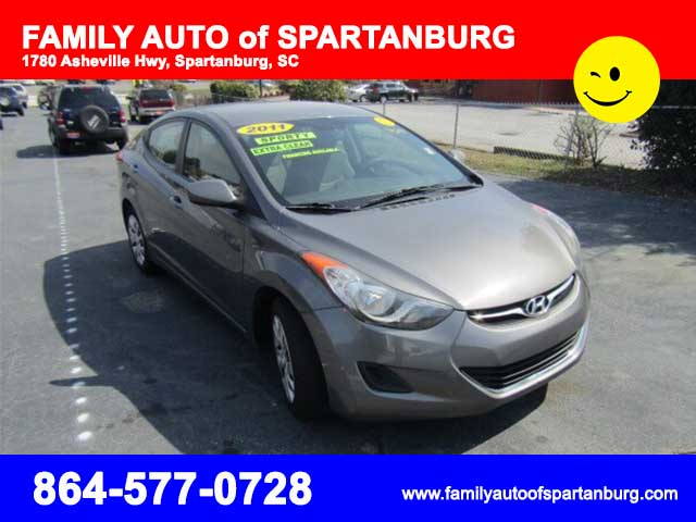 2011 Hyundai Elantra Family Auto Of Spartanburg