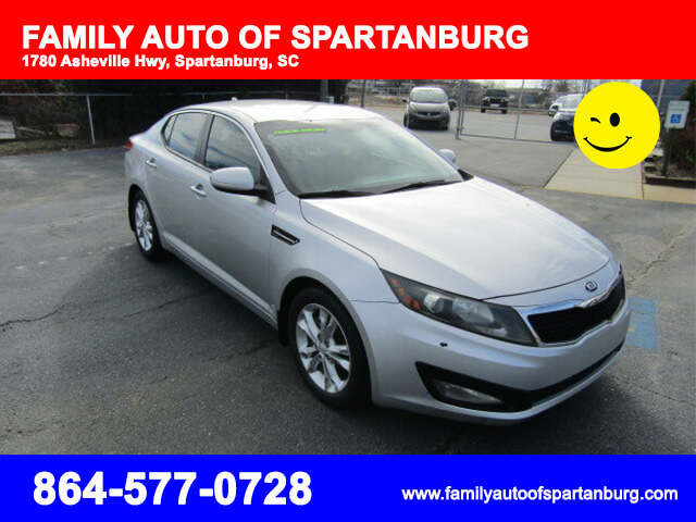 kia optima 2013 spartanburg sc family auto of spartanburg. Black Bedroom Furniture Sets. Home Design Ideas