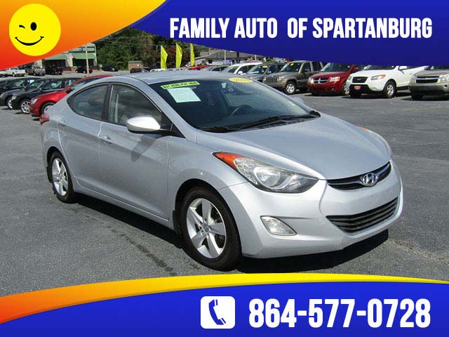 Hyundai Elantra 2013 Family Auto Of Spartanburg
