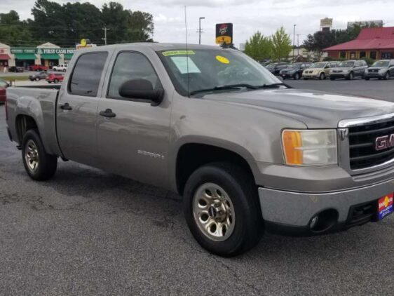 Gmc Sierra 2007 Gray