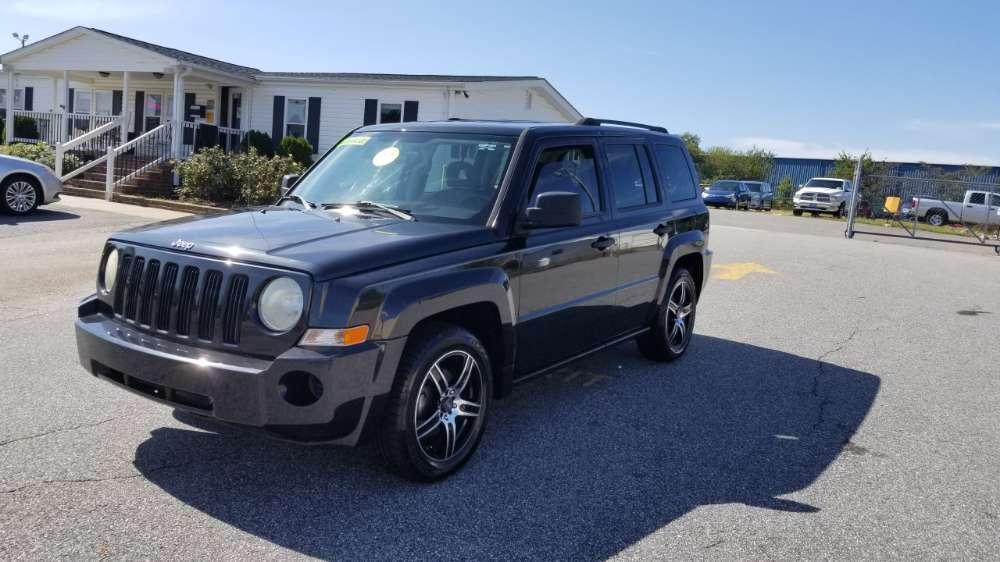 Jeep Patriot 2008 Black