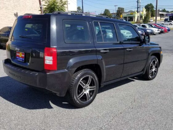 Jeep Patriot 2008 Black