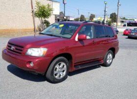 Toyota Highlander 2006 Red
