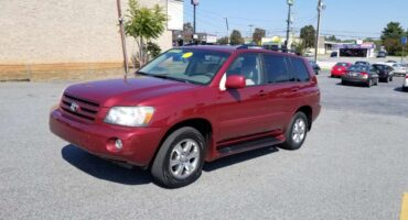 Toyota Highlander 2006 Red