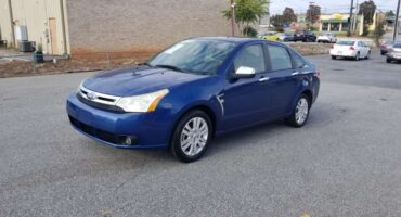 Ford Focus 2009 Blue
