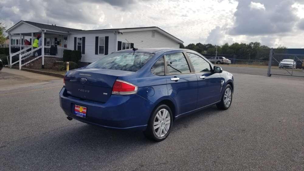 Ford Focus 2009 Blue