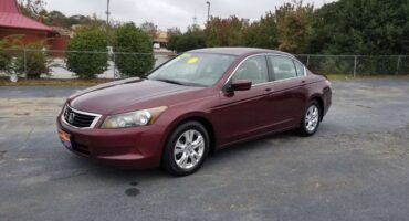 Honda Accord 2009 Red