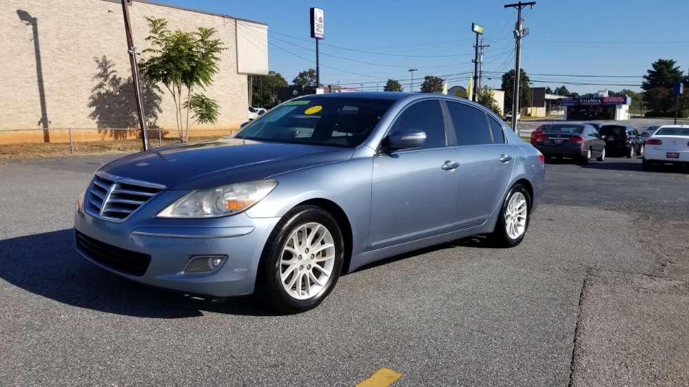 Hyundai Genesis 2010 Blue