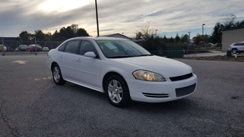 Chevy Impala 2012 White
