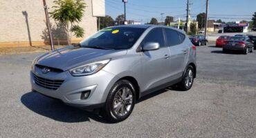 Hyundai Tucson 2014 Silver