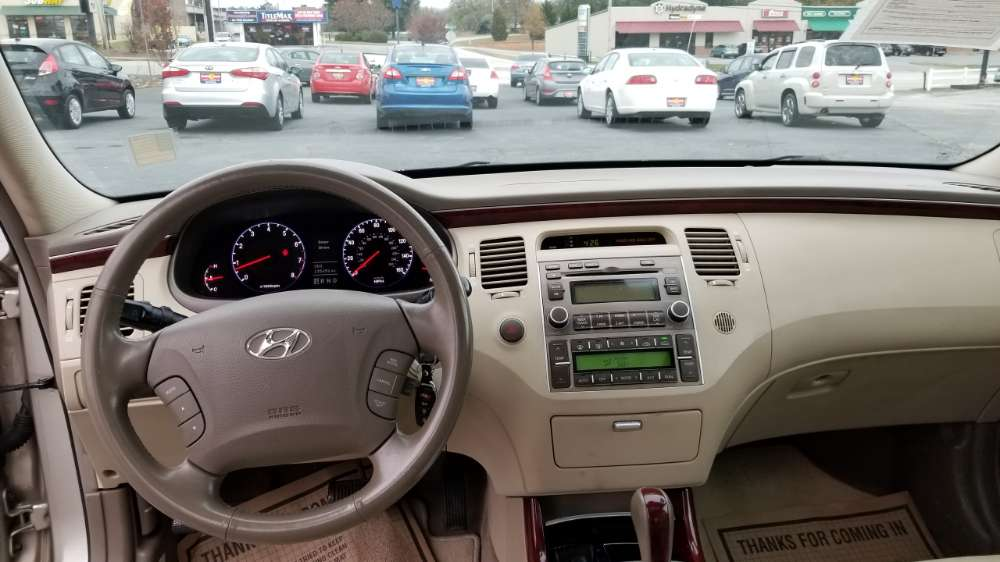 Hyundai Azera 2008 Gold