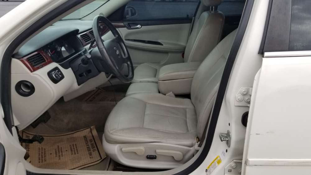 Chevy Impala 2009 White