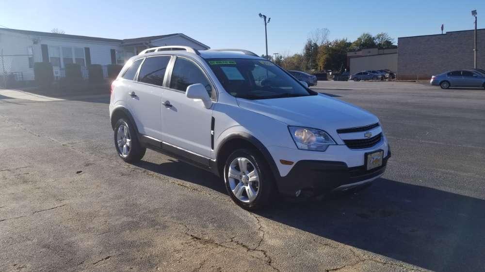 Chevrolet Captiva 2014 White