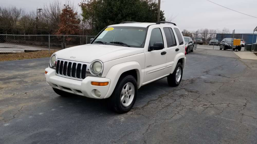 Jeep Liberty 2004 White
