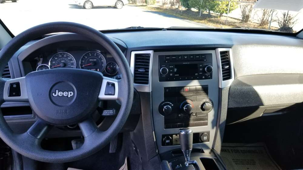 Jeep Grand Cherokee 2009 Black