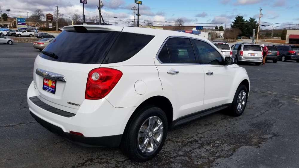 Chevy Equinox 2013 White