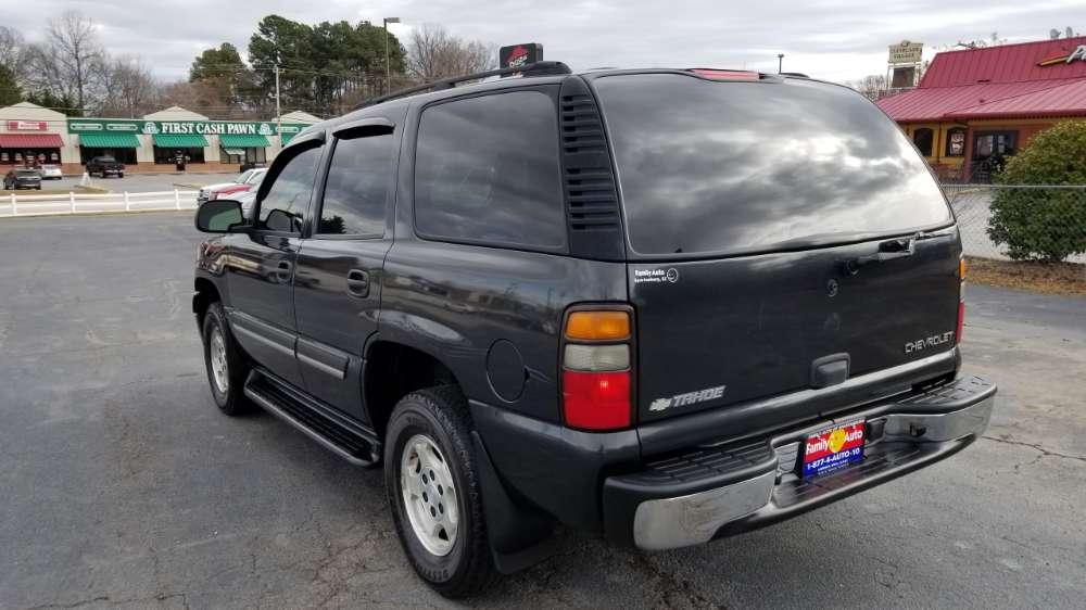 Chevy Tahe 2005 Black