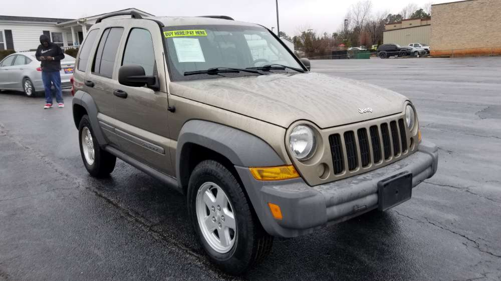 Jeep Liberty 2006 Gray
