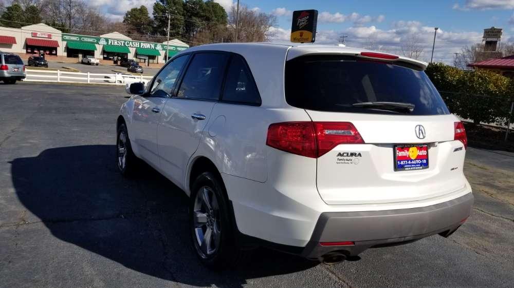 Acura MDX 2007 White