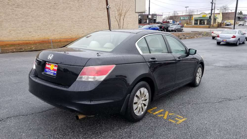 Honda Accord 2008 Black