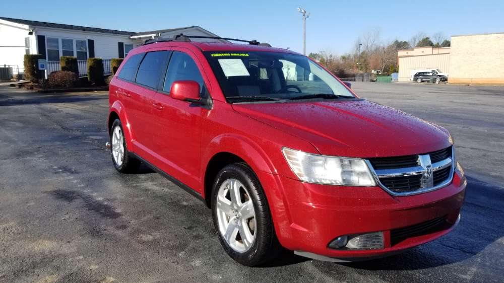 Dodge Journey 2009 Red