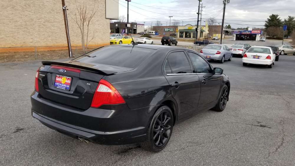 Ford Fusion 2010 Black