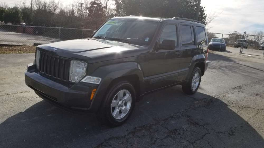 Jeep Liberty 2010 Gray