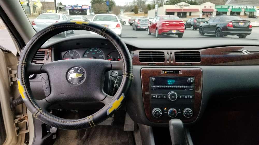 Chevy Impala 2011 Gold