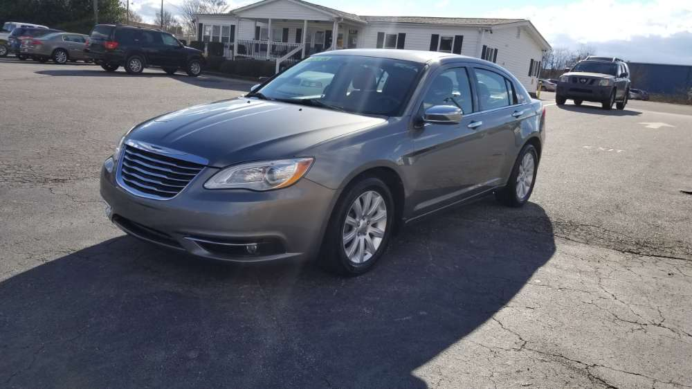 Chrysler 200 2013 Silver