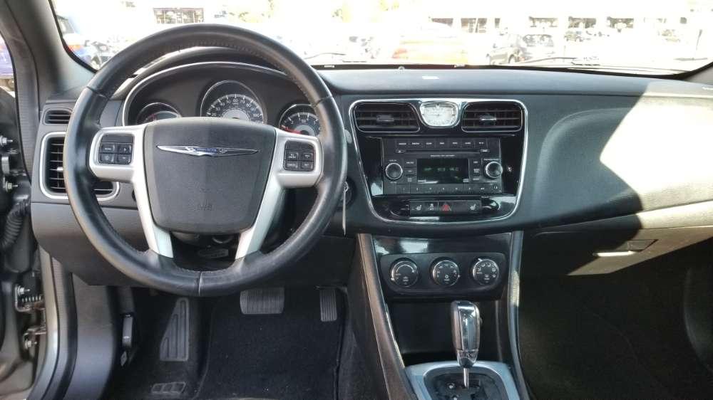 Chrysler 200 2013 Silver