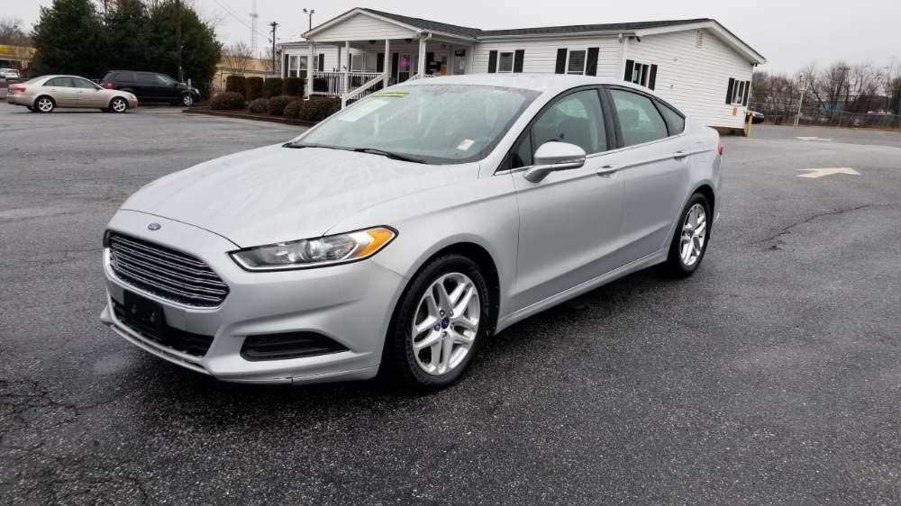 Ford Fusion 2015 Silver