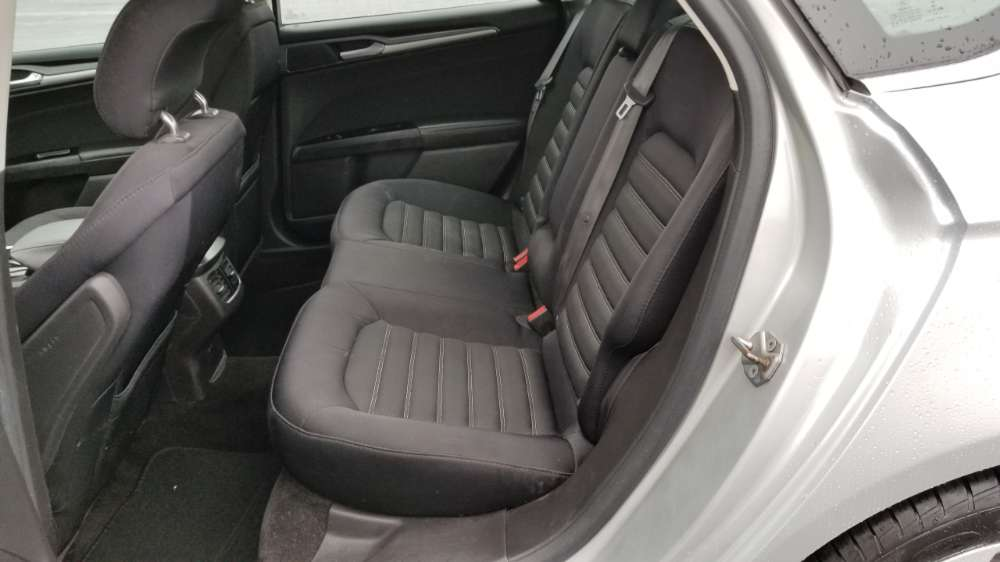 Ford Fusion 2015 Silver