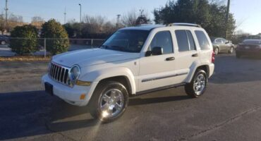 Jeep Cherokee, Liberty 2006 White