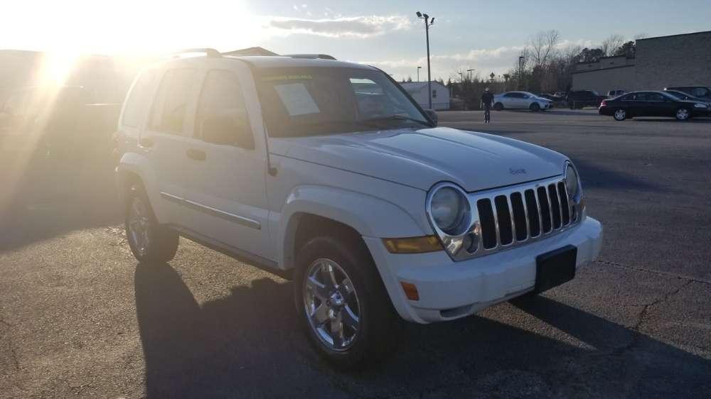 Jeep Cherokee, Liberty 2006 White