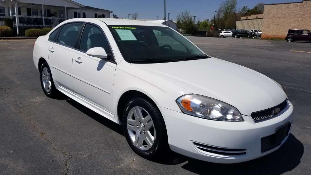 Chevy Impala 2012 White