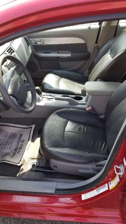 Chrysler Sebring 2008 Red