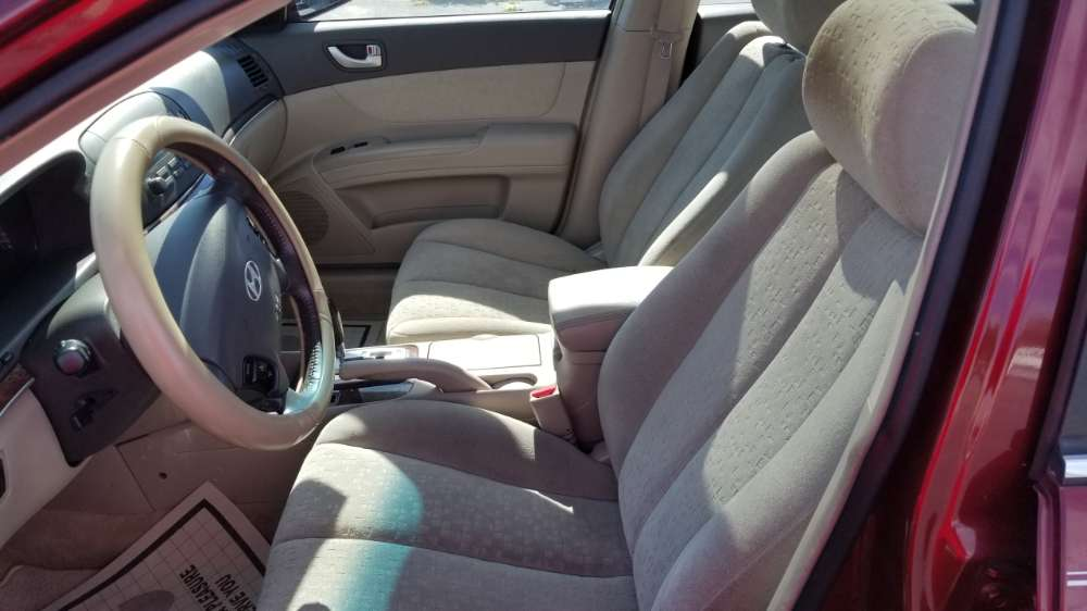 Hyundai Sonata 2007 Red