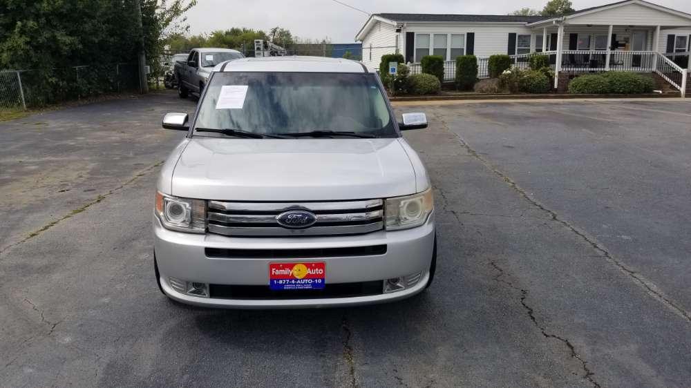 Ford Flex 2010 Silver